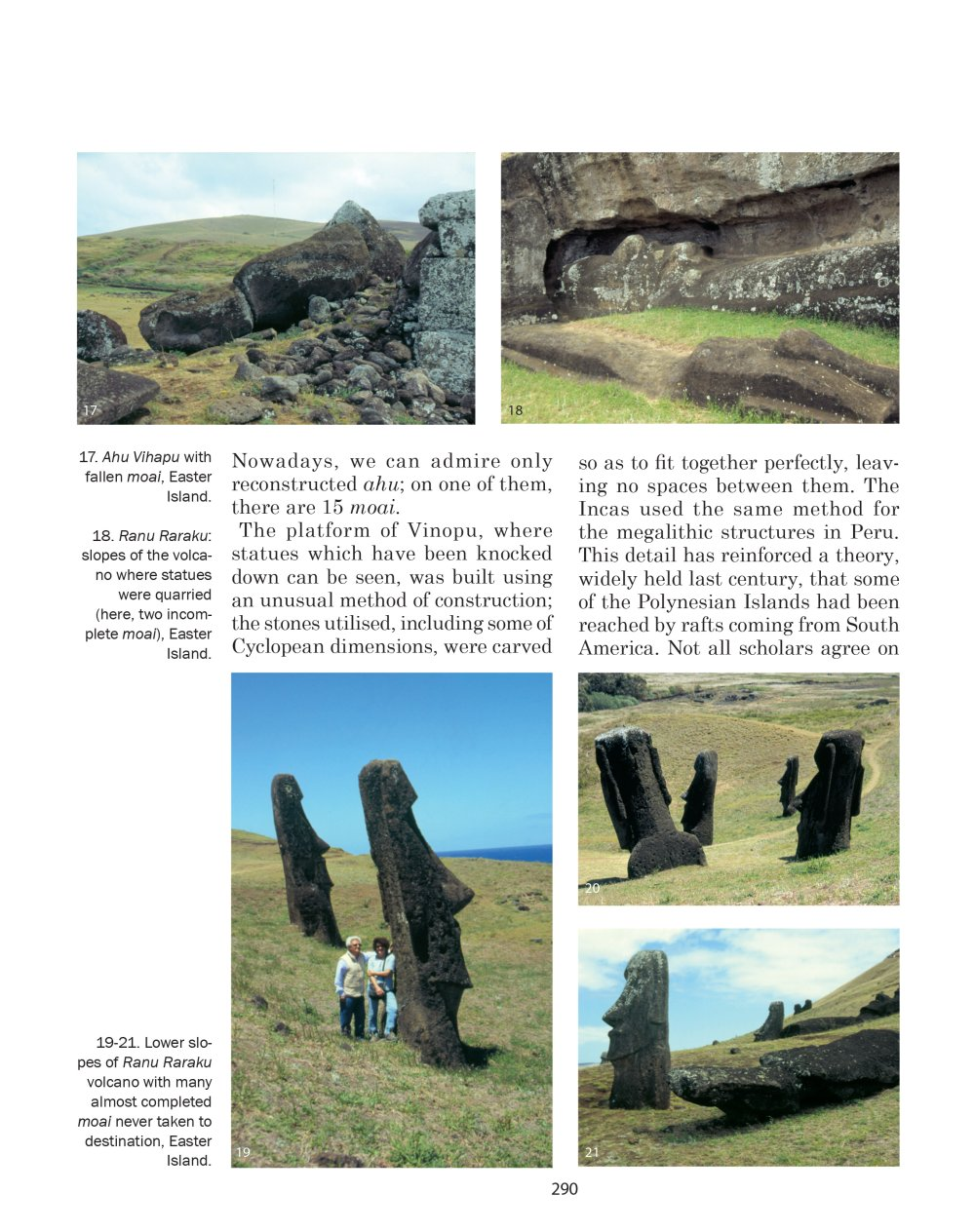 Easter Island - picture from Alberto Pozzi in his book Megalithism